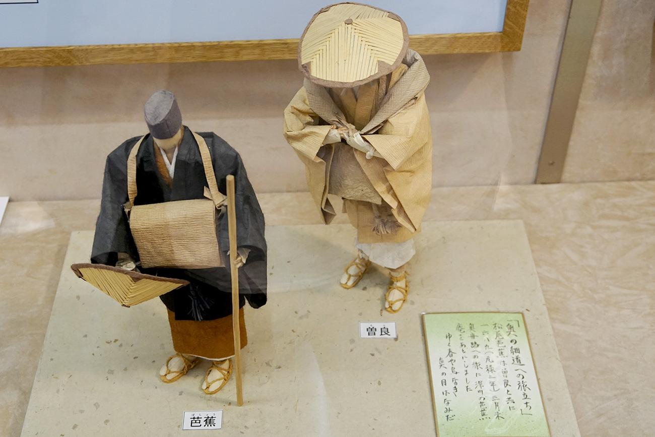 画像 おくの細道への旅立ち(和紙人形)