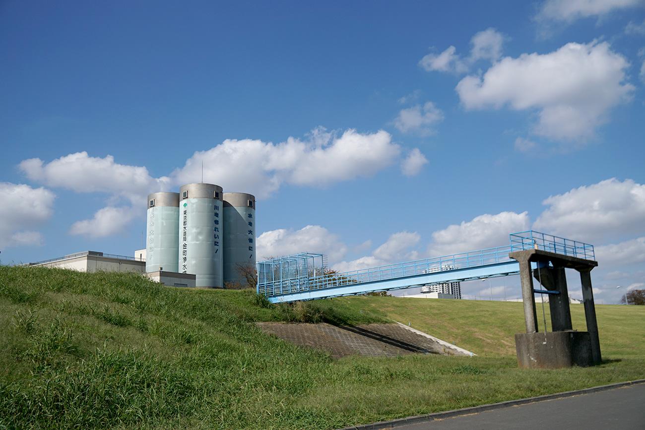 画像 金町浄水場の施設