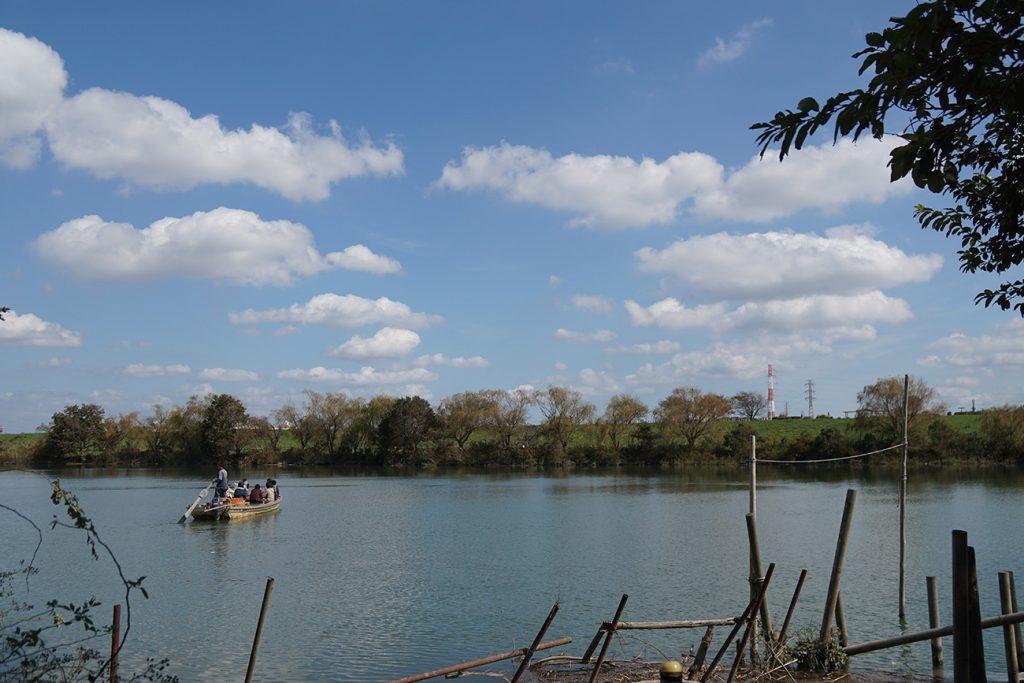 画像 矢切の渡し 渡し舟の様子 葛飾区側