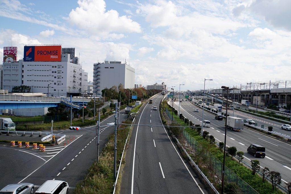 画像 首都高湾岸線の風景