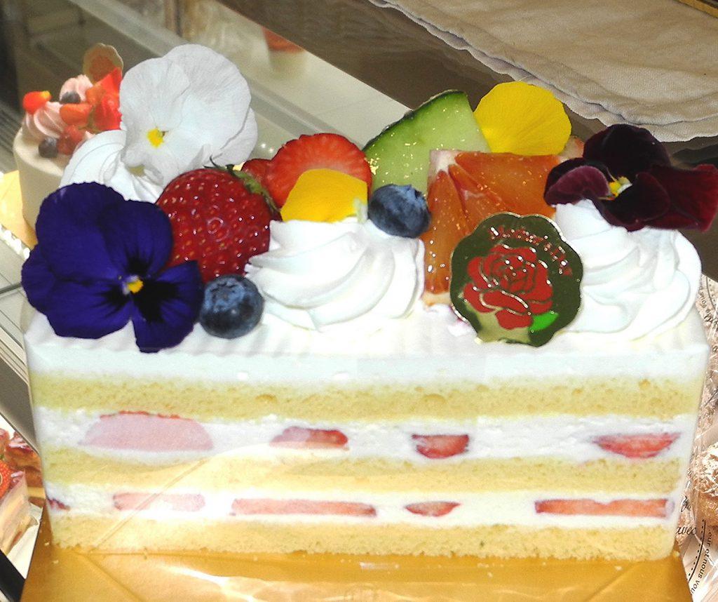 画像 今回お願いしたオリジナルケーキ