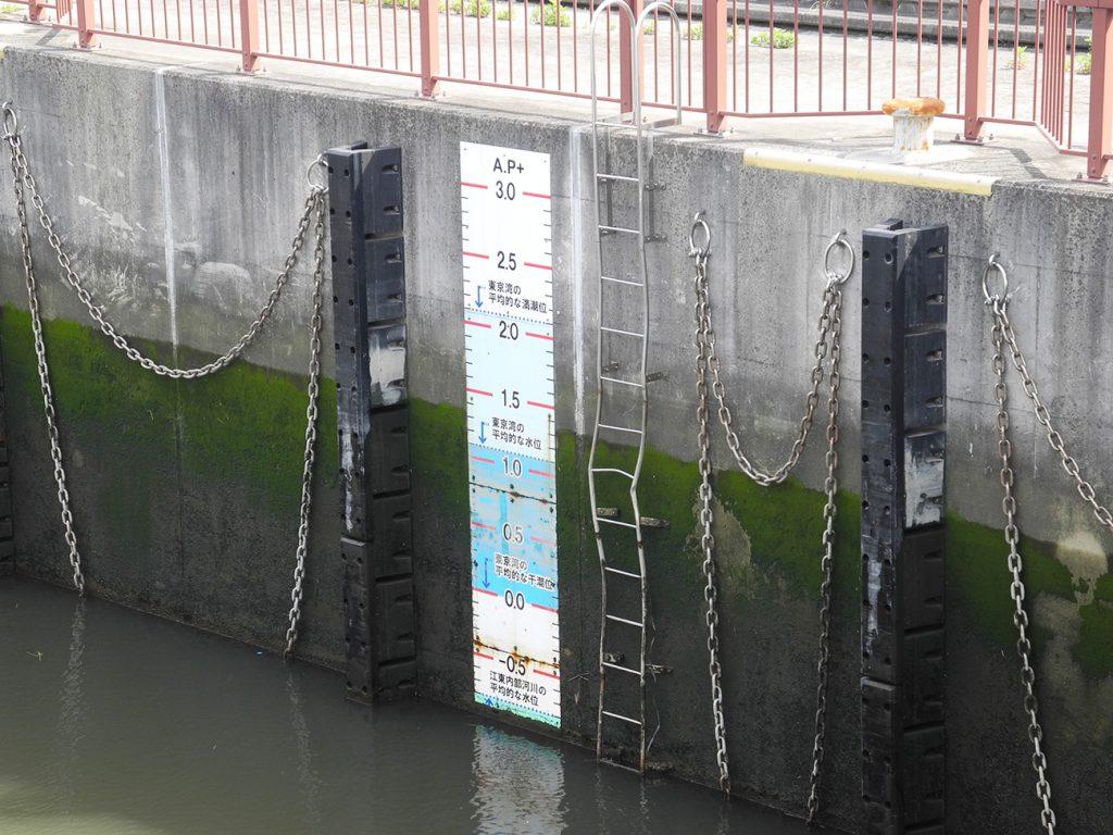 画像 荒川ロックゲートの水位