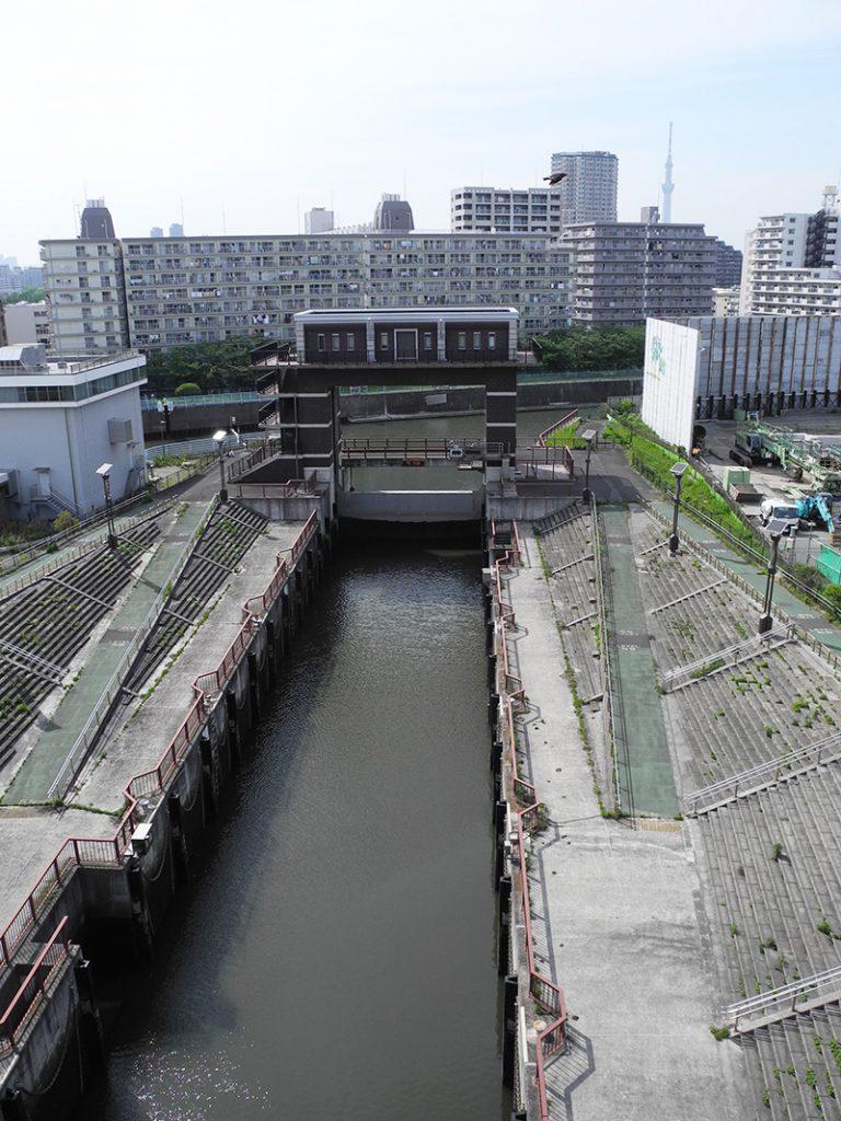 画像 旧中川のロックゲート