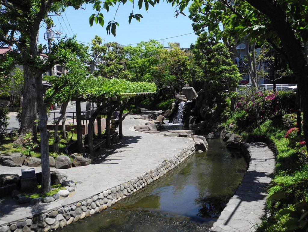 画像 古川親水公園の滝