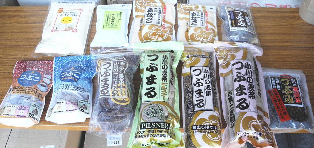 画像 小川産業 麦茶商品