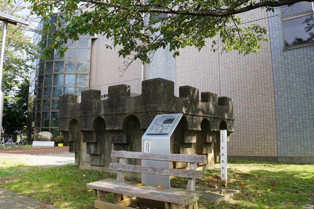 画像 荒川知水資料館アモアにある船堀閘門の一部