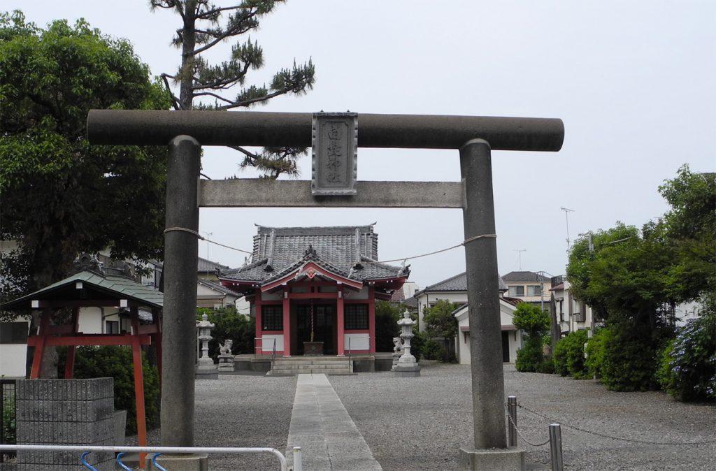 画像 平井村の鎮守 白髭神社