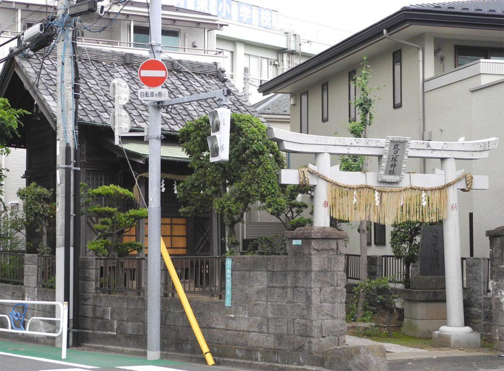 画像 鹿見塚神社