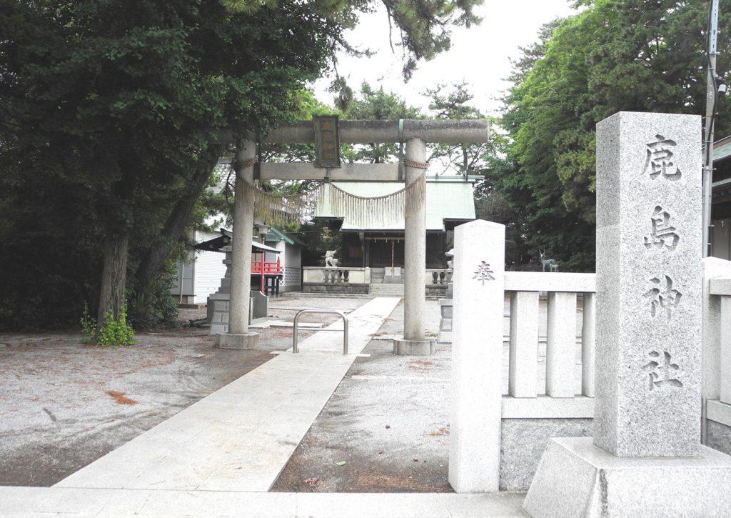 画像 鹿骨鹿島神社