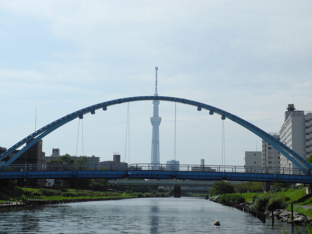 画像 旧中川にかかるふれあい橋