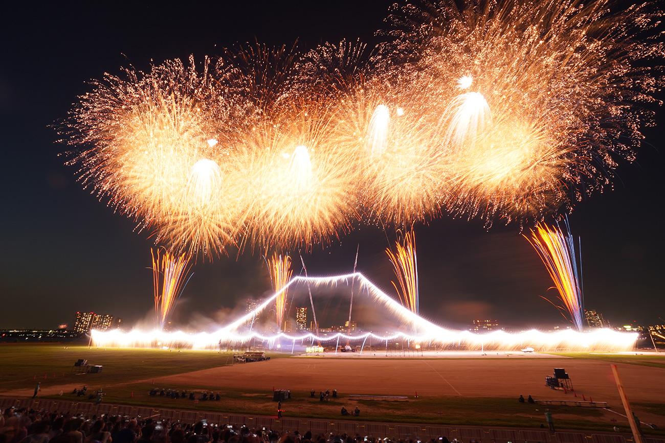 画像 遙かなる富士~波濤の彼方に~ 江戸川区花火大会