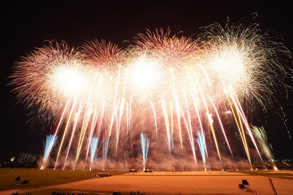 画像 情熱のSPARK&FLASH! 江戸川区花火大会