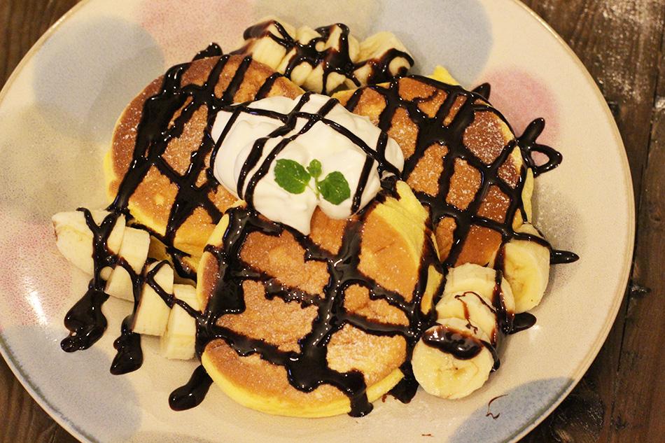 画像 チョコバナナパンケーキ