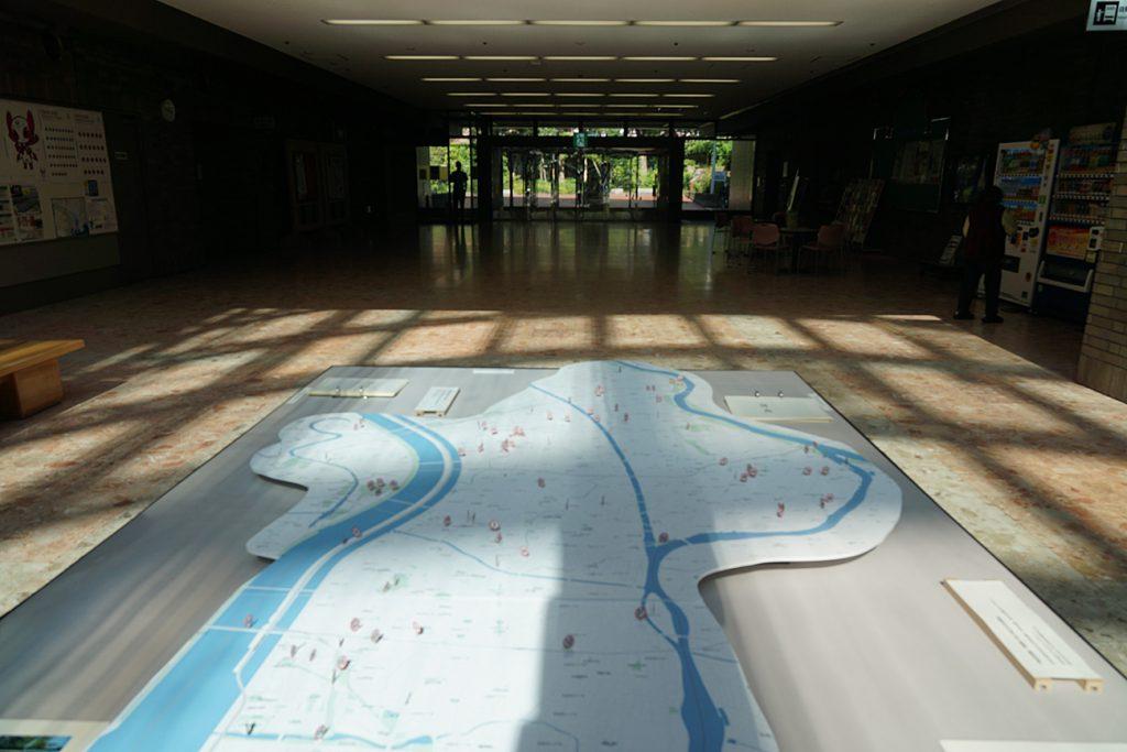 画像 地点採集した場所をマッピングした地図