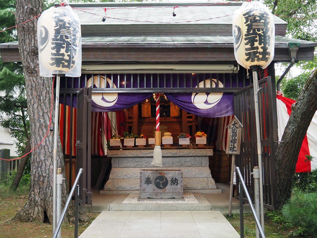 画像 小岩の大鷲神社の本殿