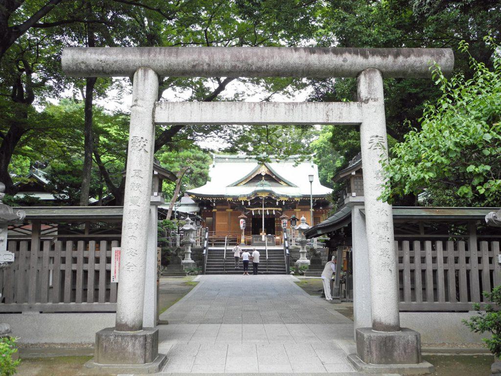 画像 花畑大鷲神社の本殿