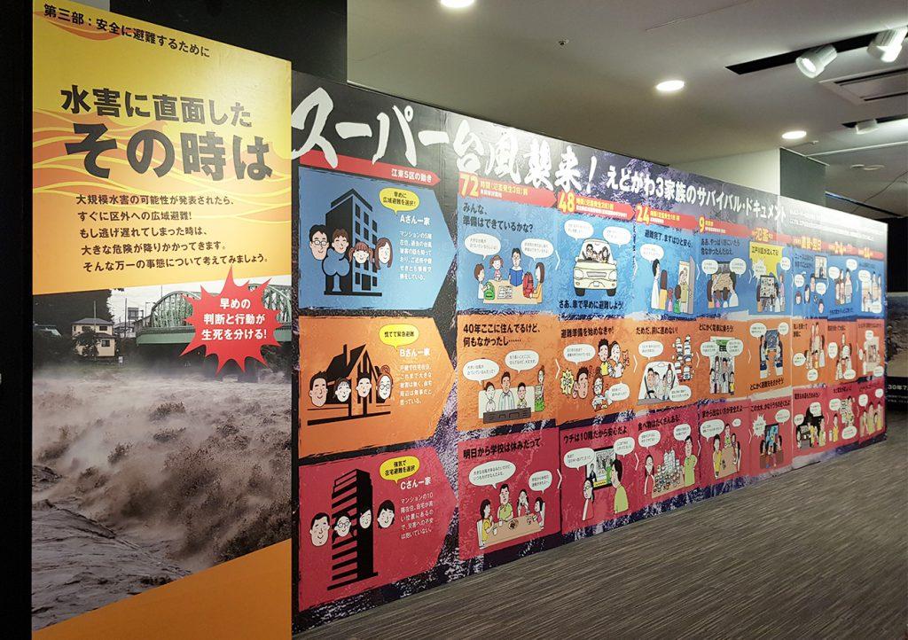 画像 しのざき文化プラザ企画展示『江戸川区ハザードマップ』 展示