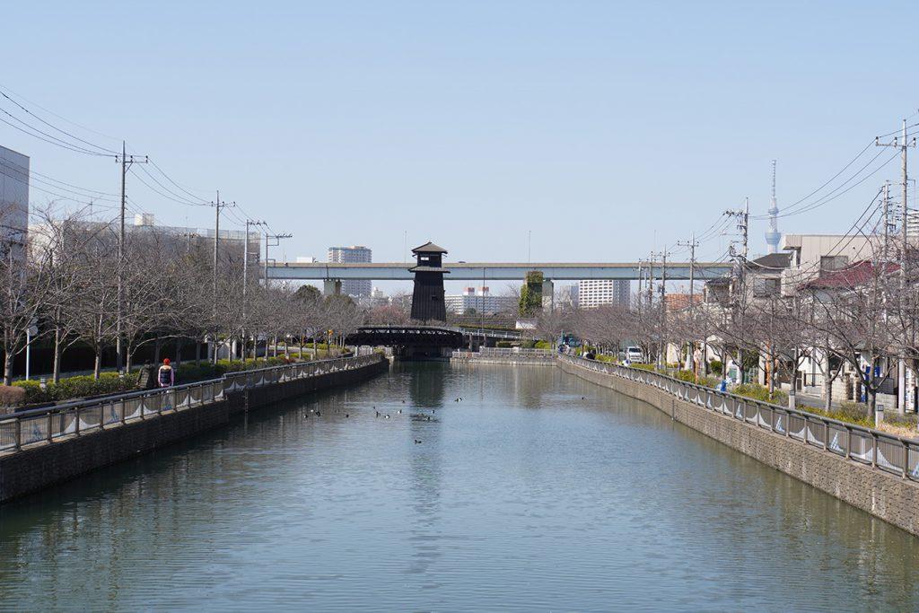 画像 新川西水門広場の火の見やぐら